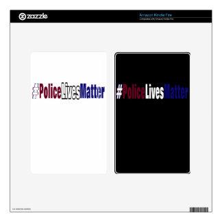 # Police lives matter Skins For Kindle Fire
