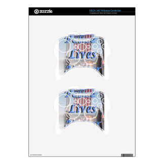 Police_Lives_Matter Xbox 360 Controller Decal