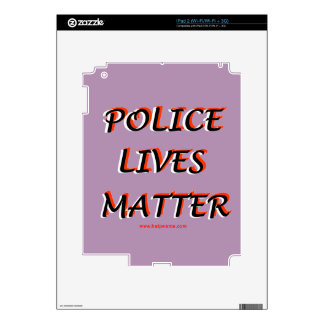 Police_Lives_Matters_Words iPad 2 Decal