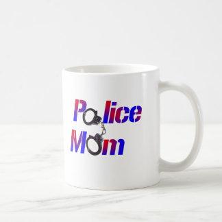 Police Mom Classic White Coffee Mug
