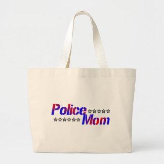 Police Mom Jumbo Tote Bag