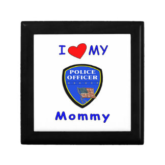 Police Mom Love Jewelry Box
