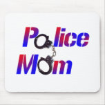 Police Mom Mouse Pad