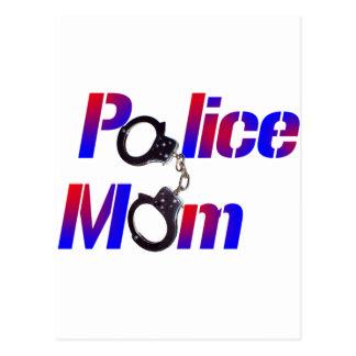 Police Mom Postcard