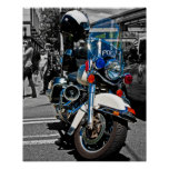 Police Motorbike Posters