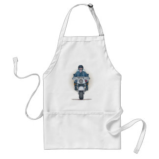 Police Motorcycle Apron