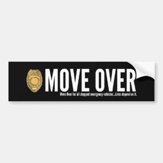 Police Move Over Bumper Sticker
