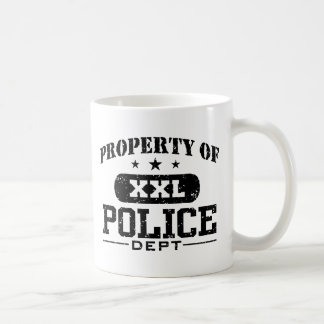 Police Classic White Coffee Mug