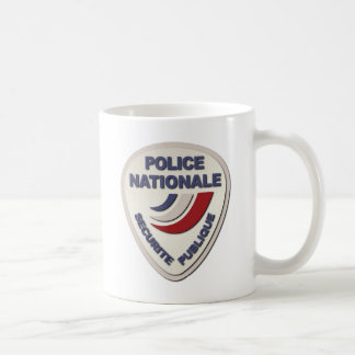 Police Nationale France Police without Text Coffee Mug