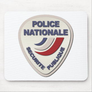 Police Nationale France Police without Text Mouse Pad