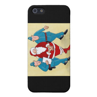 Police Navidad Funny Christmas Santa Gifts & Cards Case For iPhone SE/5/5s