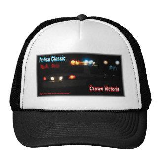 Police Night Lights Crown Victoria Trucker Hat