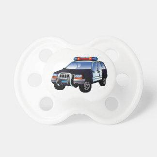 Police Office Design Car Digital Art Destiny BooginHead Pacifier