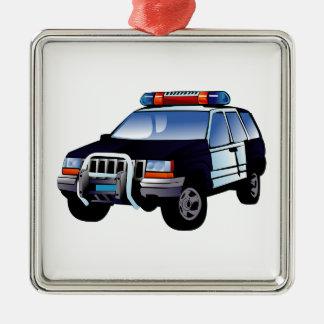 Police Office Design Car Digital Art Destiny Ornament