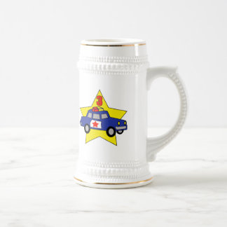 Police Officer 3rd Birthday Gifts Beer Stein