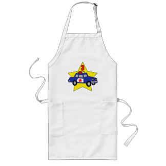 Police Officer 3rd Birthday Gifts Long Apron
