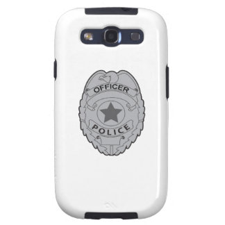 POLICE OFFICER BADGE SAMSUNG GALAXY SIII COVERS