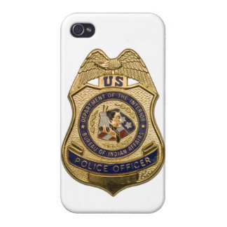 Police Officer Badge I-Phone 5 Cover iPhone 4 Case