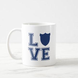 Police Officer Badge - L O V E Coffee Mug