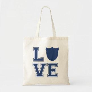 Police Officer Badge - L O V E Tote Bag