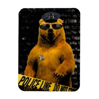 Police Officer Bear! Magnet