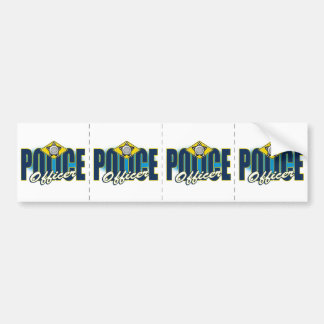 Police Officer Bumper Sticker