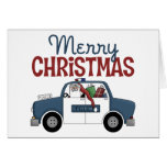 Police Officer Business Christmas Card