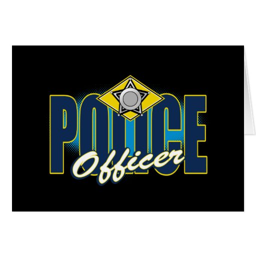 Police Officer Card