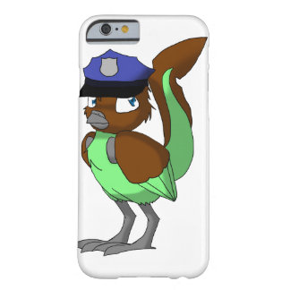 Police Officer Chocolate/Mint Reptilian Bird Barely There iPhone 6 Case
