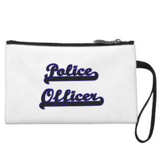 Police Officer Classic Job Design Wristlet