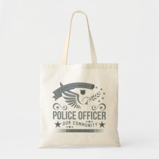 Police Officer Commitment Tote Bag