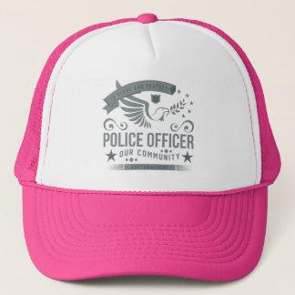 Police Officer Commitment Trucker Hat