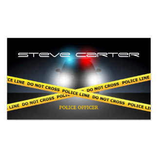 Police ficer Business Cards and Business Card Templates