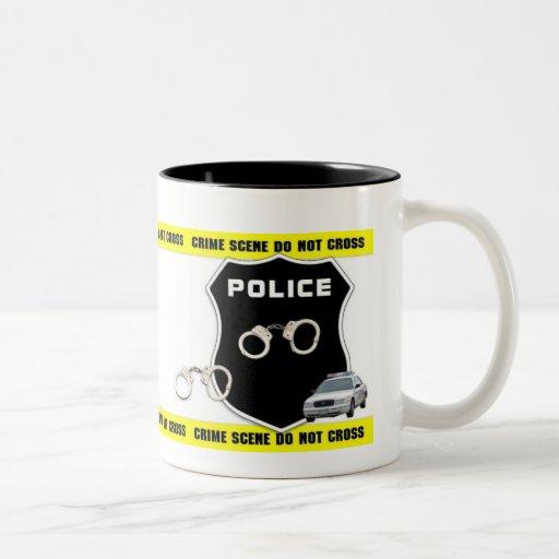 Police Officer Crime Scene Mug