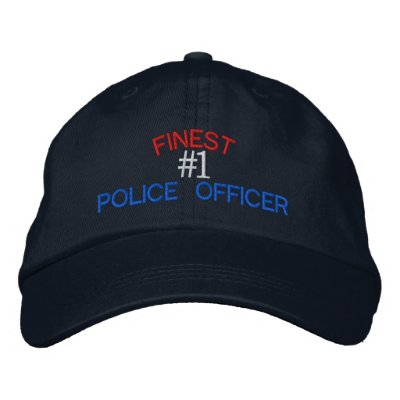 Police Officer Embroidered Hat