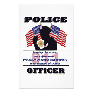Police_Officer_Flags_Text Papeleria Personalizada