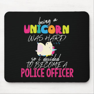 Police Officer Gift for Women Cop Law Enforcement Mouse Pad