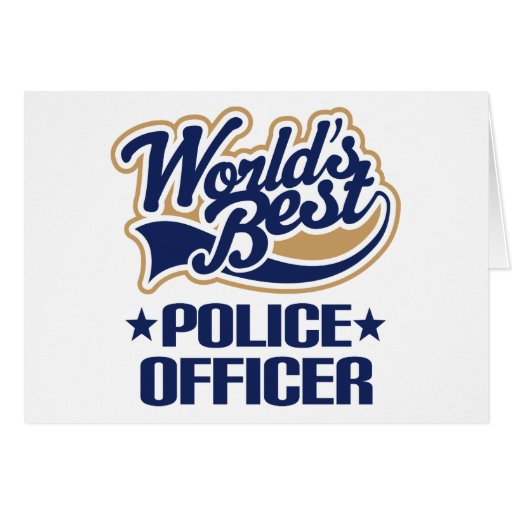 Police Officer Gift Greeting Card