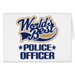 Police Officer Gift Greeting Cards