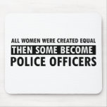 Police Officer Gift Items Mousepad