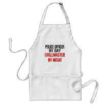 Police Officer Grillmaster Adult Apron