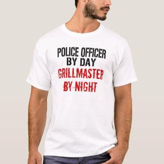 Police Officer Grillmaster T-Shirt