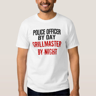 Police Officer Grillmaster T Shirts