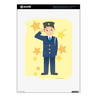 Police Officer iPad 3 Skin