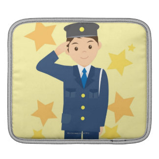 Police Officer iPad Sleeves
