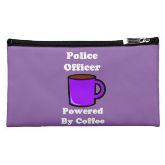"""""""Police Officer"""" Powered by Coffee Cosmetic Bag"""
