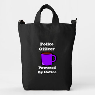 """""""Police Officer"""" Powered by Coffee Duck Bag"""