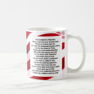 Police officer prayer coffee mug prayer