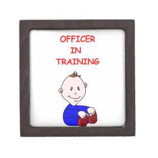 police officer premium jewelry box