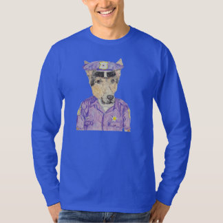 Police Officer Ruff T-Shirt